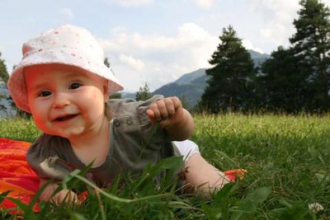 In montagna con un bambino: è la vacanza tutto riposo per eccellenza