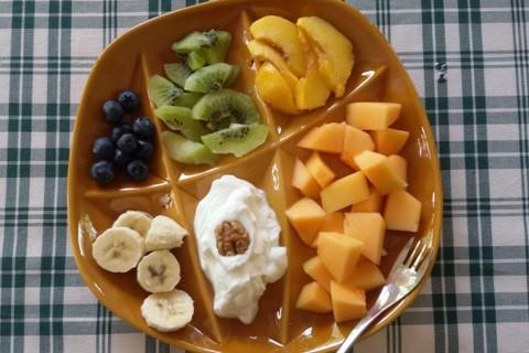 Cinque frutti a colazione