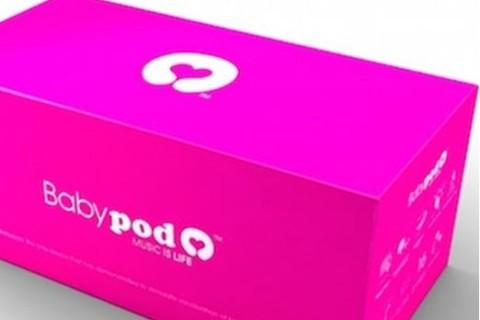 Baby iPod vaginale per far ascoltare musica al feto