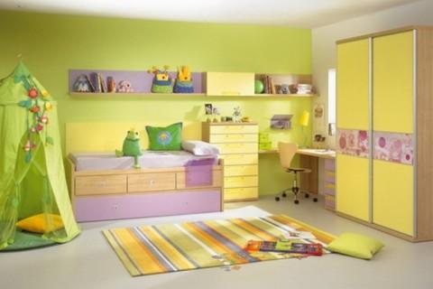 La cromoterapia entra nella stanza dei bambini:il blu concilia il ...