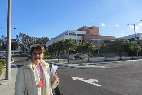 Con il cuore colmo di gioia siamo giunte all'ospedale pediatrico di Quito