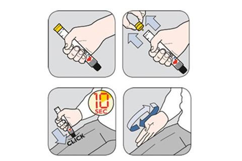 I bambini devono imparare a usare l'adrenalina per lo shock anafilattico