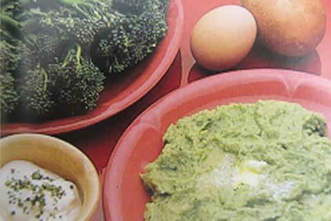 Mousse di patate e broccoli