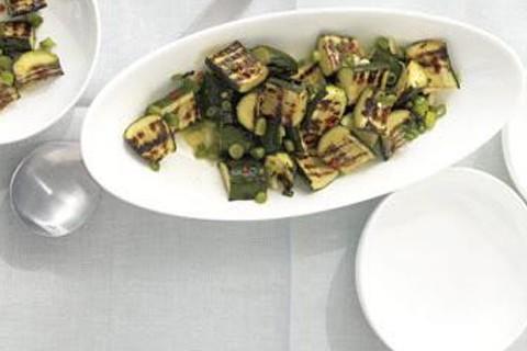 Zucchine grigliate al limone