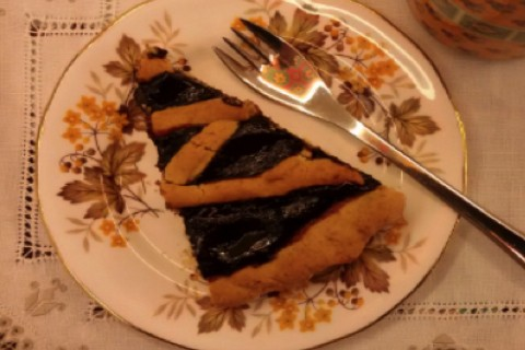 Crostata di marmellata casalinga