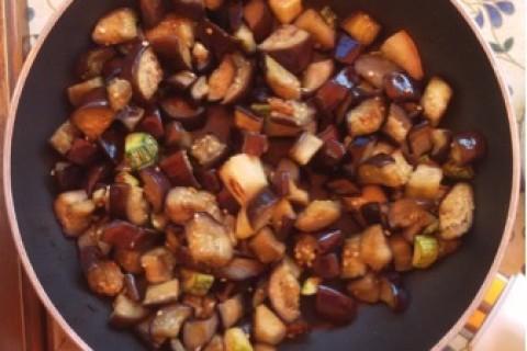 Melanzane e zucchine allo ginger