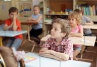 Bambini e postura corretta a scuola
