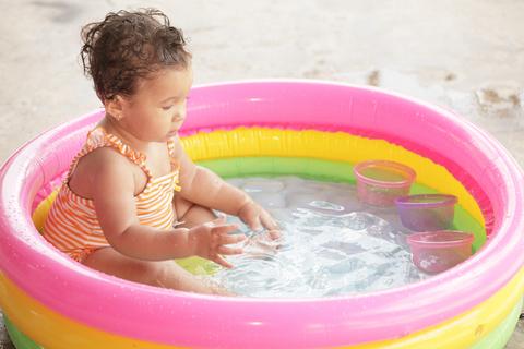 Proteggiamo i nostri bambini dai pericoli che possono - Piscine per bambini piccoli ...