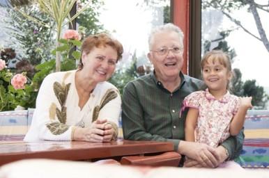 Nonni e nipoti uniti da  un legame speciale
