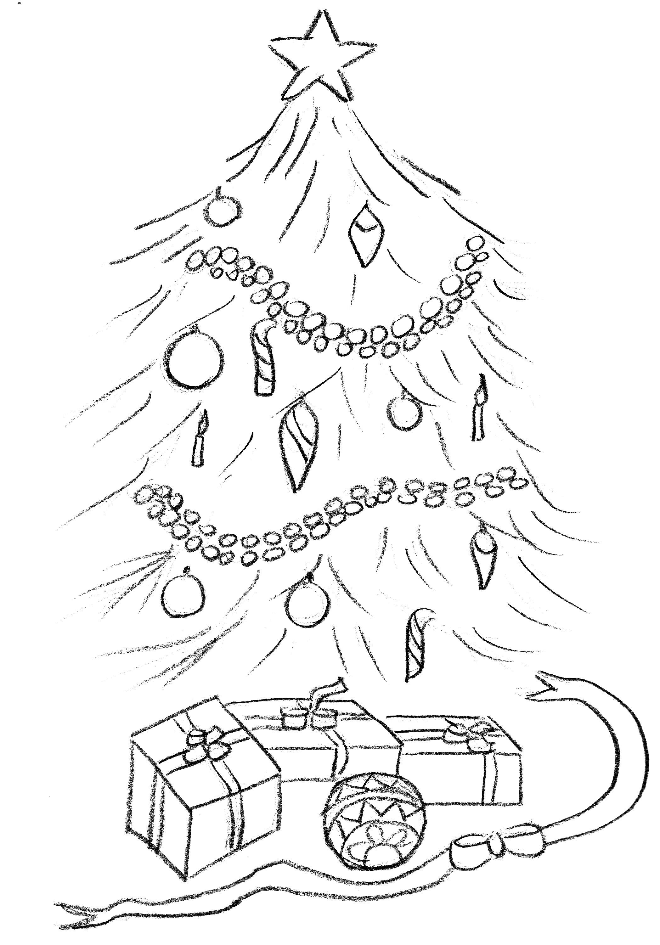 La Lista Dei Desideri La Lettera A Babbo Natale E Disegni Da Colorare