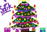 Una decorazione natalizia davvero speciale, una stella di natale in panno di feltro