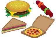 Hamburger, patatine fritte e milk shake precursori di forme allergiche