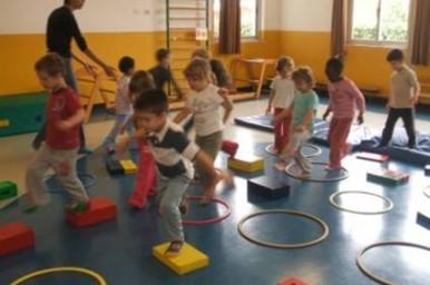 Nelle scuole materne di New York le attività sedentarie sono limitate