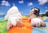 neonati al mare