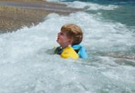 La paura dell'acqua e dei bagni di mare