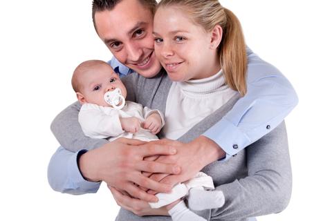 famiglia bebè