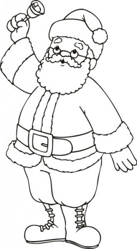 christmas_small_b&w_flashcards