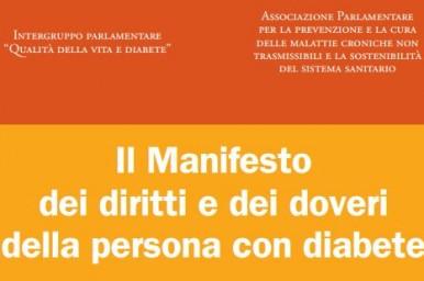 Diabete Italia e le altre hanno promosso il Manifesto: diritti dei diabetici