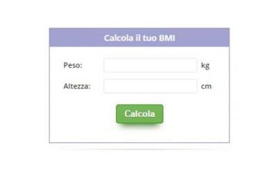 Body Mass Index – BMI il parametro per stabilire se il peso è nella norma