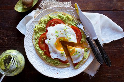 uova e avocado