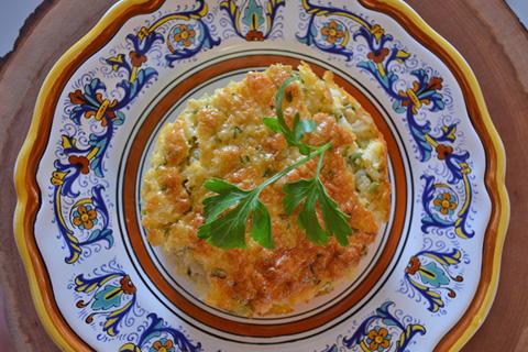 riso in crema di peperoni