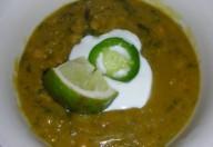 Zuppa di lenticchie alla curcuma
