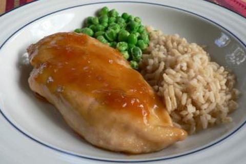 pollo all'albicocca