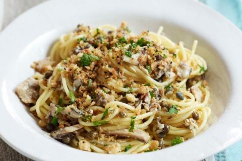 spaghetti con sardine