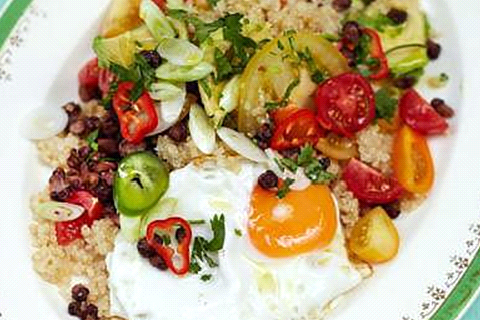 uova quinoa