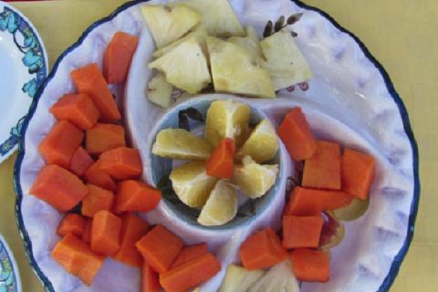 ananas papaia