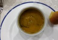 Zuppa di zucca al pesto