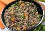Quinoa con fagioli