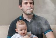 I danni del fumo passivo per i bimbi