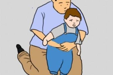 il bambino ha ingerito un piccolo oggetto