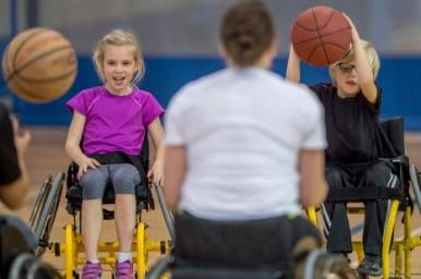 Lo sport fa bene a tutti i bambini anche con disabilità