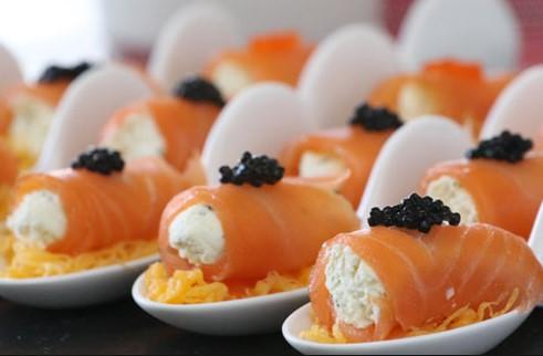 Cannoli di salmone