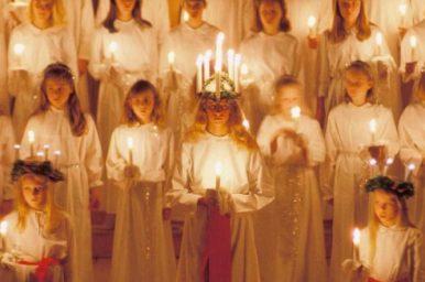Santa Lucia, un assaggio del Natale