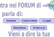 Entra nei Forum di GuidaGenitori.it vieni a dire la tua