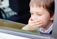 Chinetosi o mal d'auto: ne soffre un bambino su tre