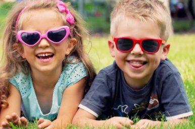Occhi dei bambini, in estate vanno maggiormente protetti