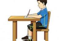 La posizione della seduta a scuola è importante