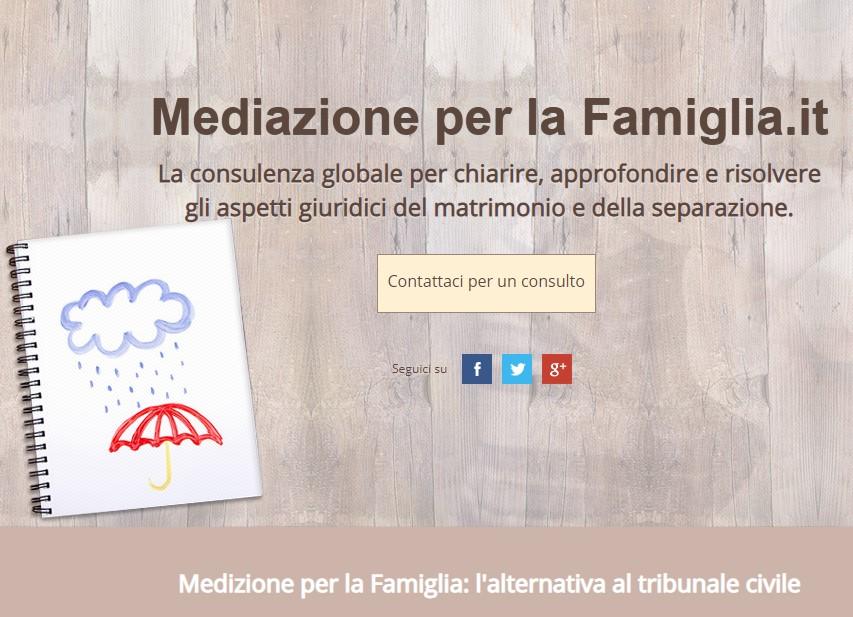 mediazione per la famiglia