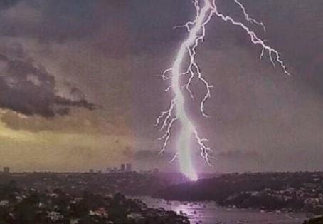 paura del temporale