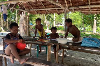 Da Raja Ampat le quattro isole maggiori della Papua