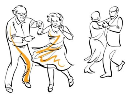 i nonni e la danza
