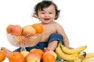 La   frutta nel divezzamento